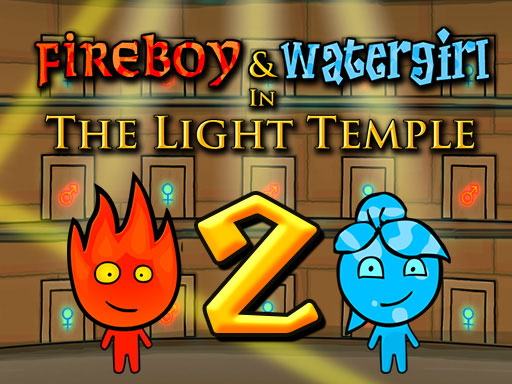 Play Fireboy and Watergirl 2 Light Temple Online
