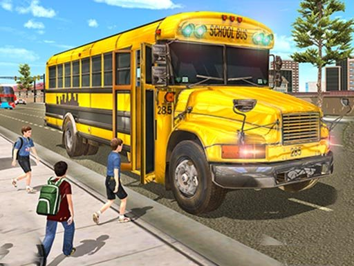 Play Real School Bus Driving Online